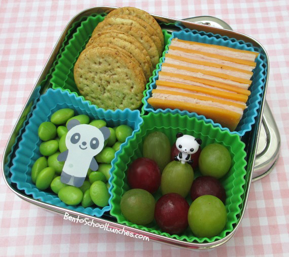 DIY Lunchables in Ecolunchbox, bento school lunches
