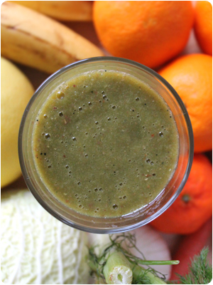 Green Monster Movement Smoothie