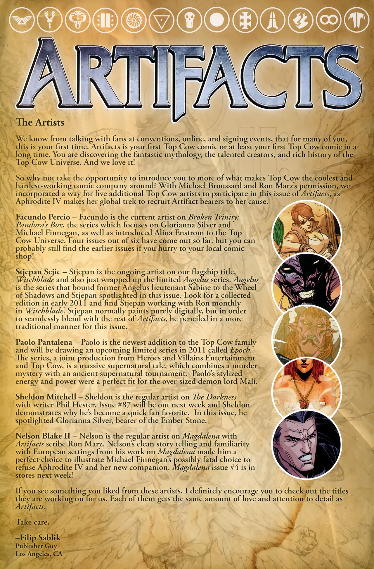 Read online Artifacts comic -  Issue #3 - 26