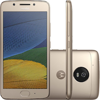 Moto G5 Plus ouro