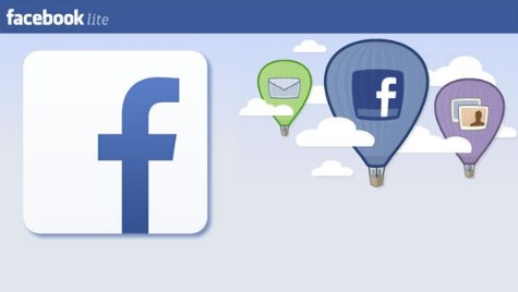 Facebook lite login or sign up