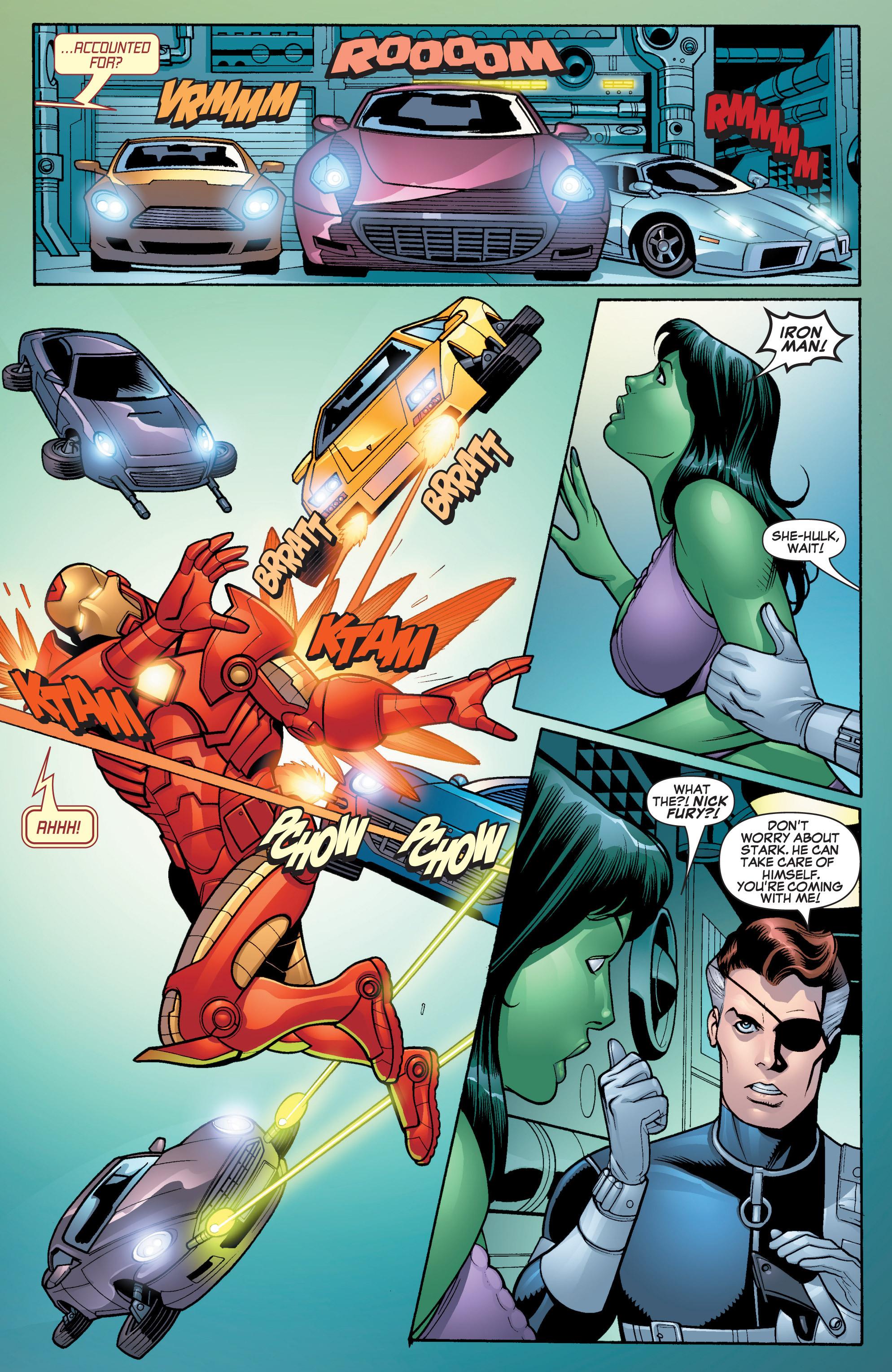 Read online She-Hulk (2005) comic -  Issue #17 - 13