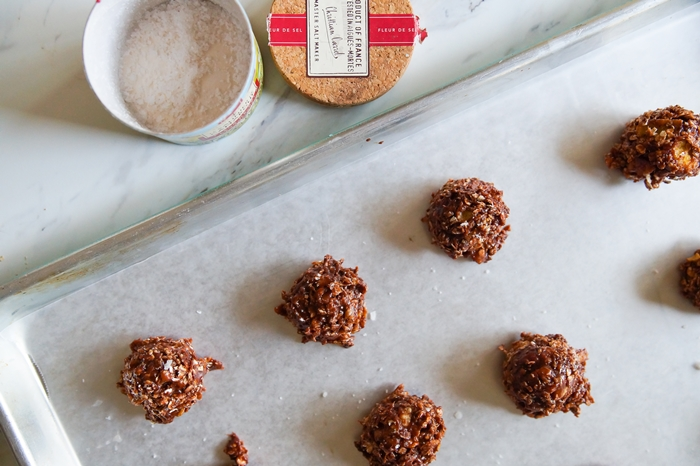 Nutella Oat Crunch No-Bake Cookies
