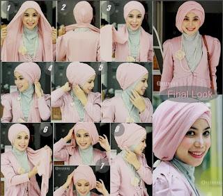 Model Kerudung Hijab Terbaru dan Cara Pemakaiannya