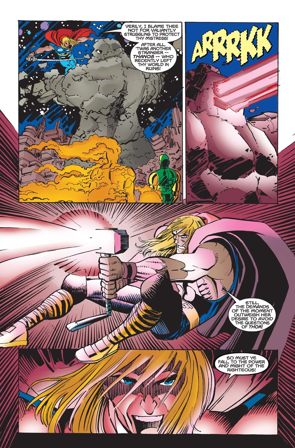 Thor (1998) Issue #23 #24 - English 6