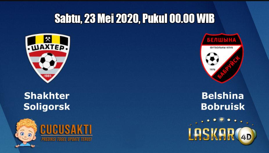 Prediksi Shakhtyor Soligorsk VS Belshina Bobruisk 23 Mei 2020