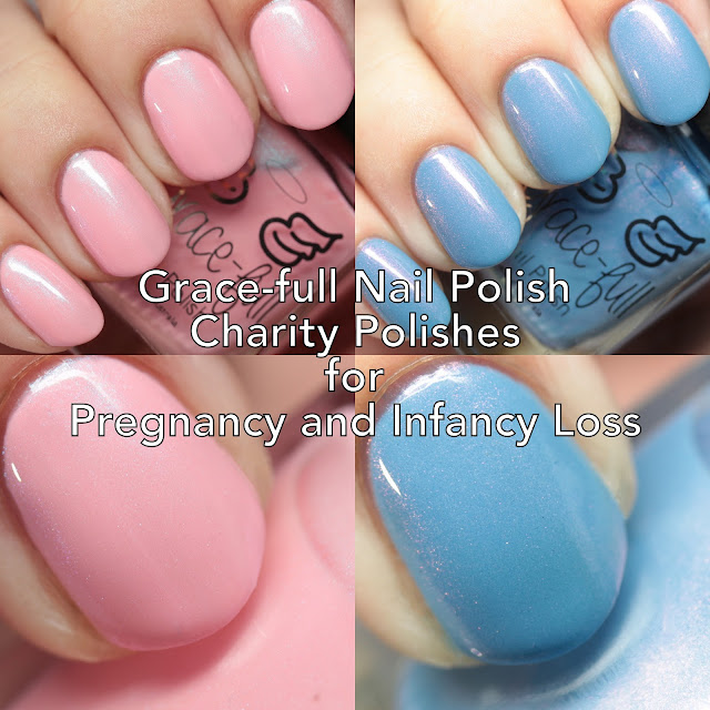 Grace-full Nail Polish Sands Tasmania Charity Polishes for Pregnancy and Infant Loss