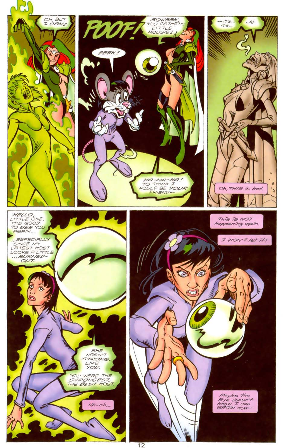 Legion of Super-Heroes (1989) 109 Page 12