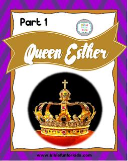 http://www.biblefunforkids.com/2013/12/esther-part-1.html