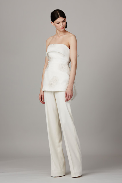 K'Mich Weddings - wedding dress - pantsuit - Lela Rose