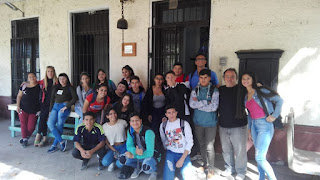 Estudiantes de la secundaria 36 visitaron el Museo Histórico de Monte Chingolo
