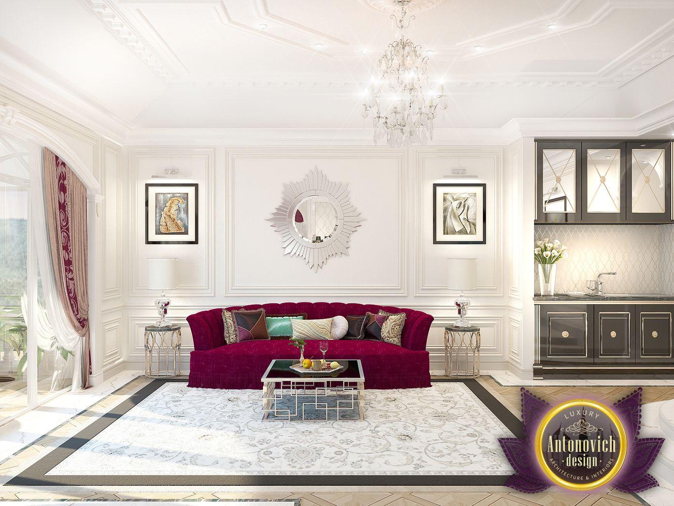 LUXURY ANTONOVICH DESIGN UAE: Living room decorating ideas by ...