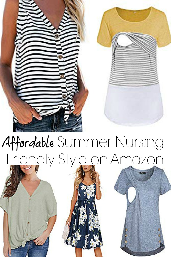 The best and most affordable nursing styles found on Amazon