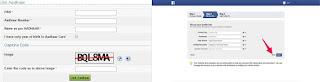 aadhaar card need to creating facebook