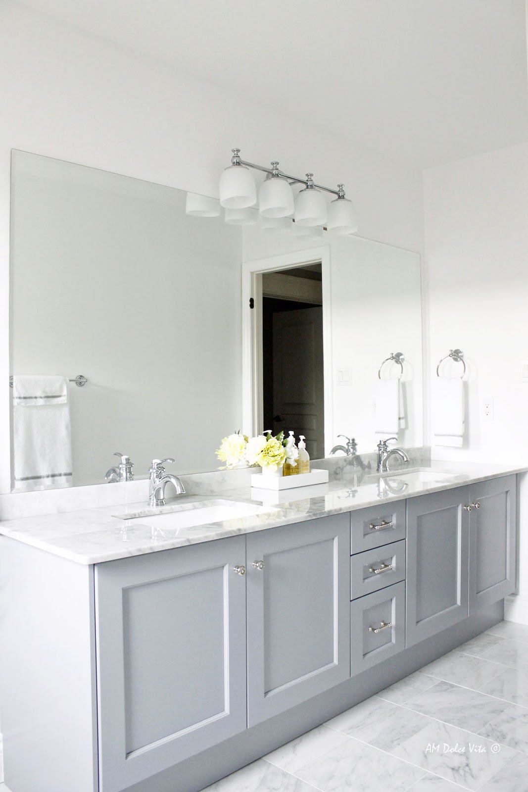 Am Dolce Vita Main Bathroom Reveal Before And After