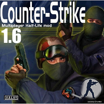 Counter Strike 1.6 + Serial Instalado (PC)