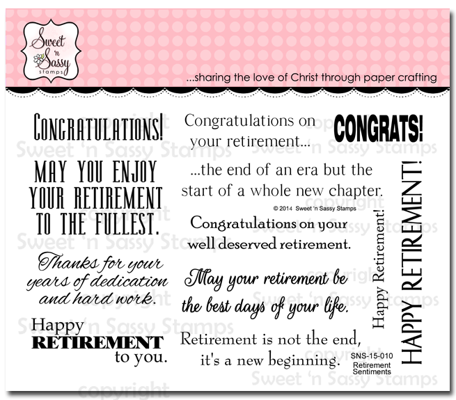 http://www.sweetnsassystamps.com/retirement-sentiments/