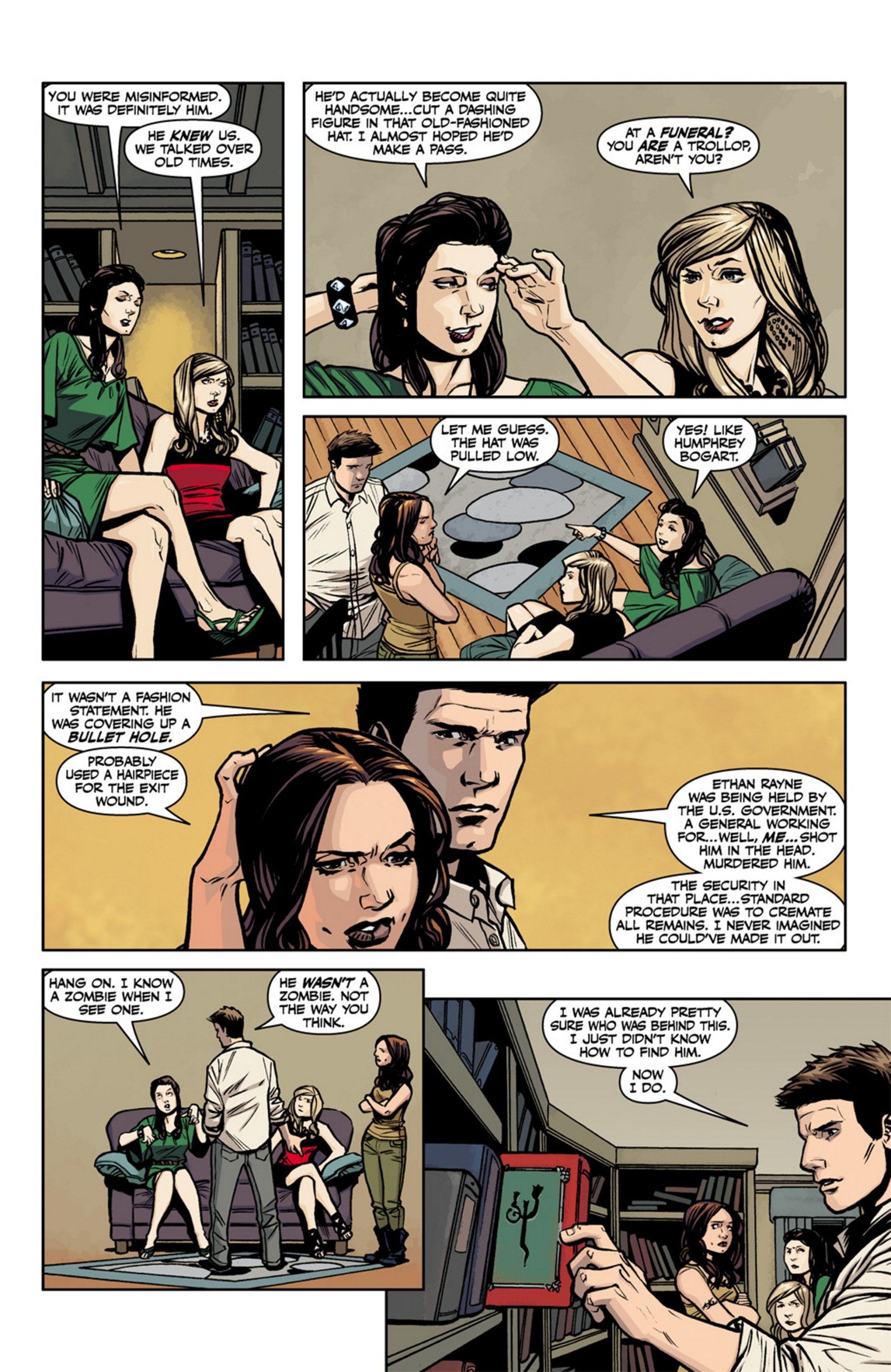 Read online Angel and Faith comic -  Issue #17 - 16