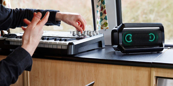 Become a DJ with XBOOM mini components and all-in-one