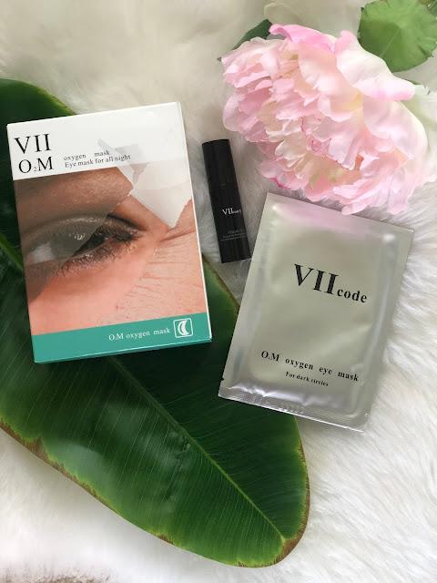 VII Code Oxygen Eye Mask & Hydrating Eye Spray