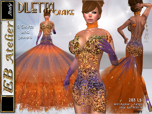 https://marketplace.secondlife.com/p/EB-Atelier-DILETTA-Orange-Outfit-9-skirts-LOLASBRAZILIAPHAT-AZZ-Appliers-italian-designer/5913959