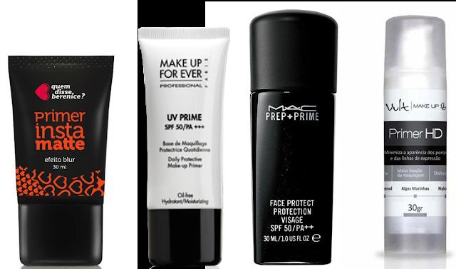 Primers para segurar a maquiagem
