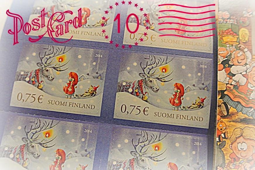 Joulukortit Postiin