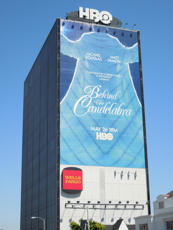 Giant Behind the Candelabra billboard
