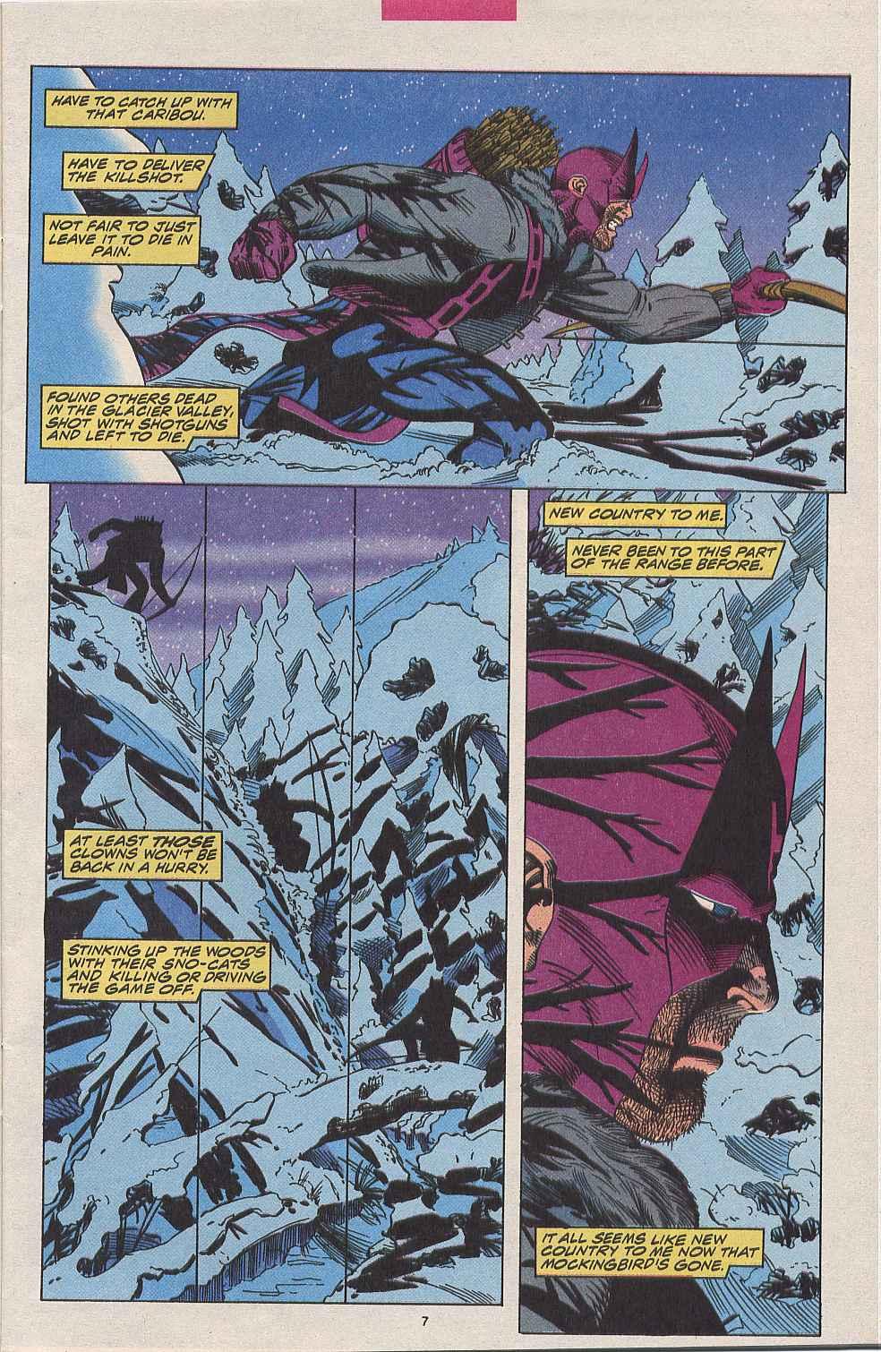 Hawkeye (1994) Issue #1 #1 - English 7