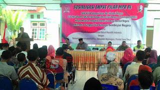 Anggota MPR RI Sosialisasi Empat Pilar di Kalitidu