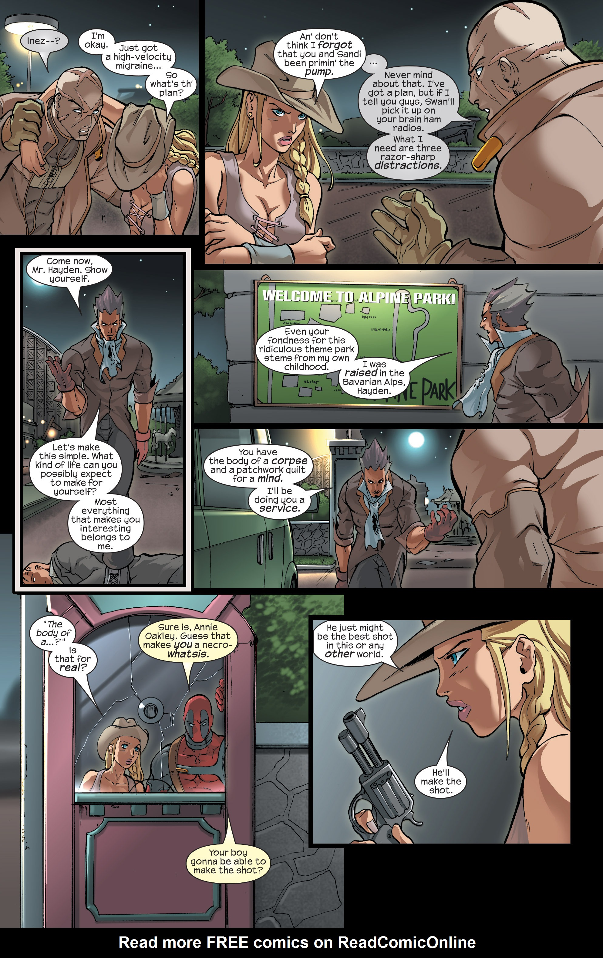 Read online Agent X comic -  Issue #15 - 16