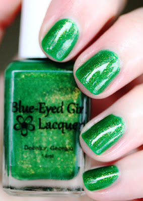 Blue-Eyed Girl Lacquer Every Moment Lasts a Day BEGL