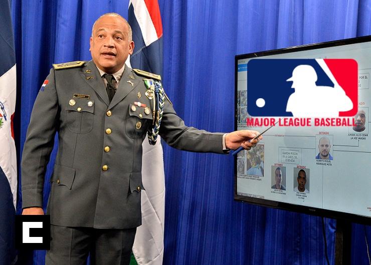 Cuestionan vocero de la Policía Nacional trabaje para Grandes Ligas