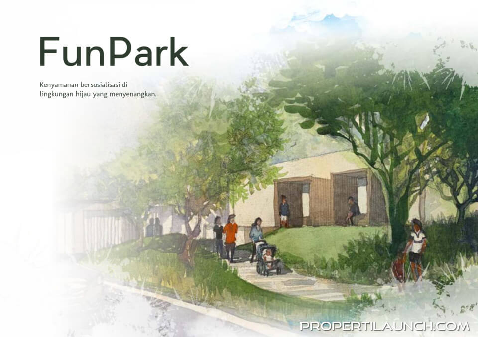 Fun Park Synthesis Homes Cirendeu