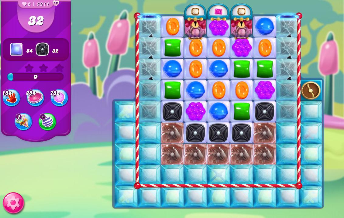 Candy Crush Saga level 7211