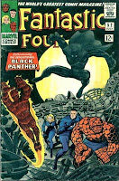Fantastic Four 52 1st Black Panther cover