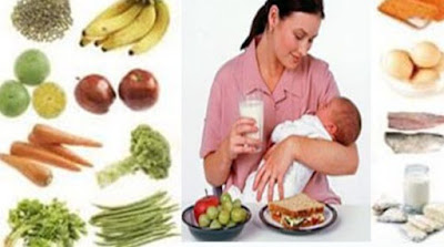 Makanan Ibu Menyusui Agar Bayi Sehat dan Cerdas
