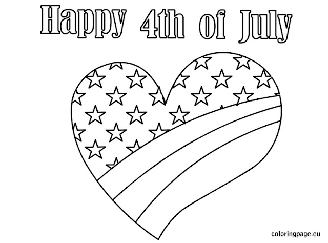 4th of July Coloring Pages 2017
