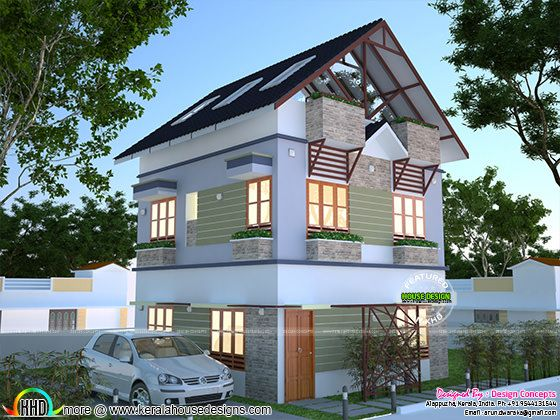 House Plan For 2 Cent Kerala Home Design And Floor Plans