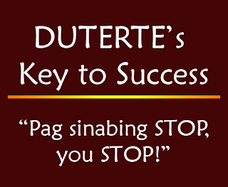 Duterte's Key to Success