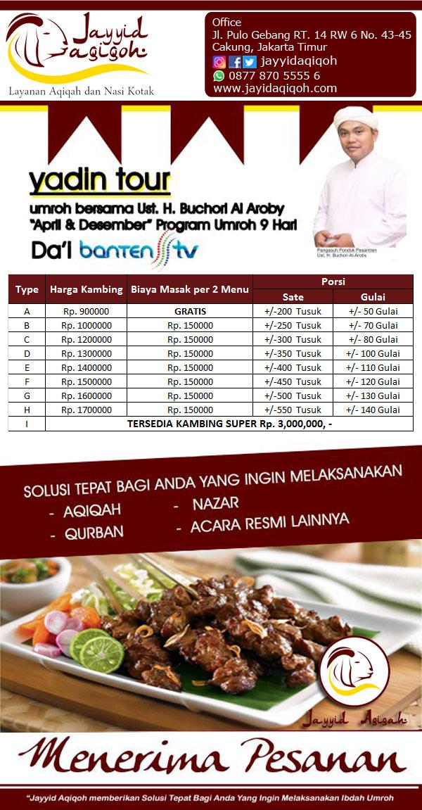 Harga Kambing Aqiqah Jakarta
