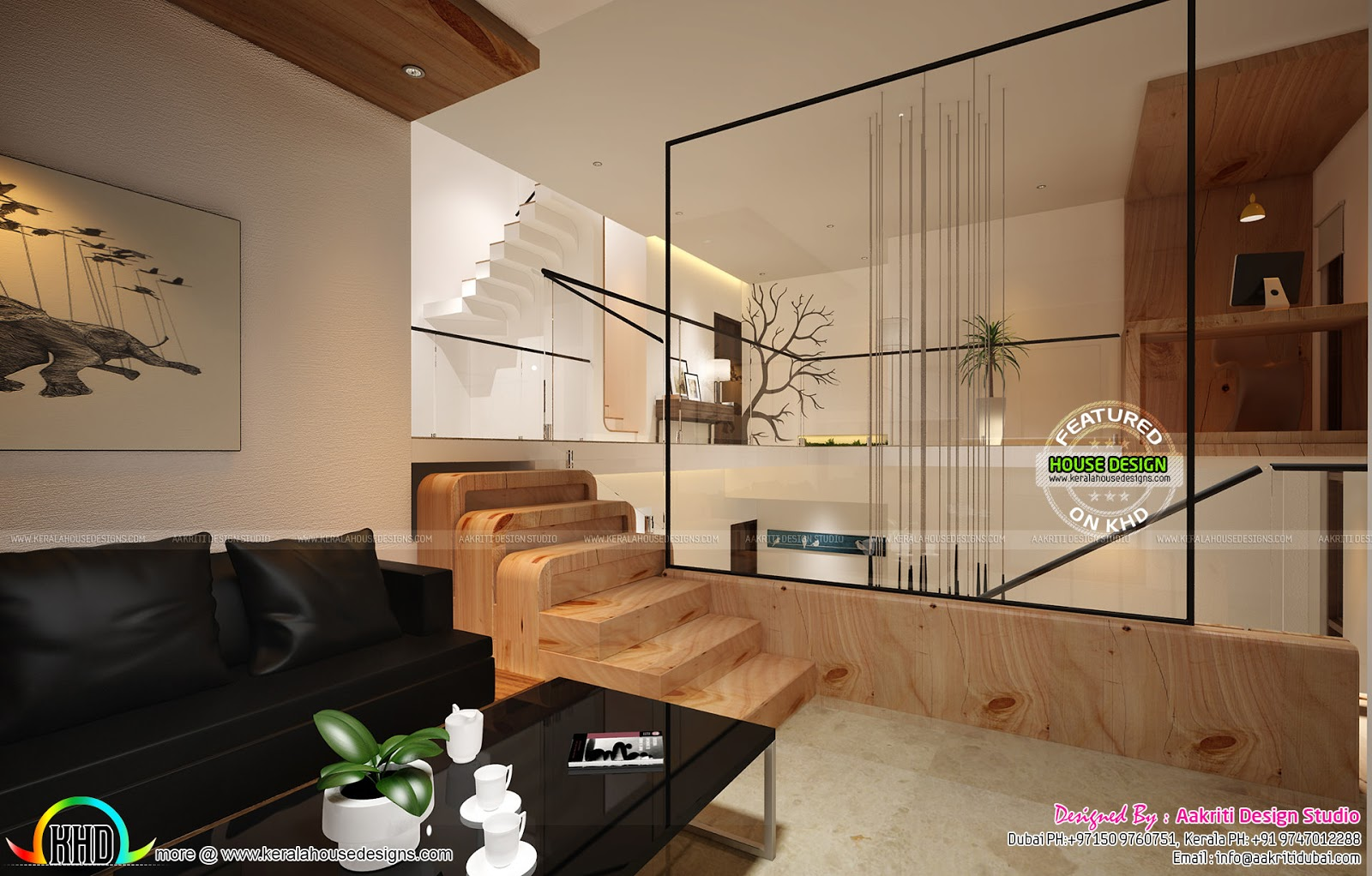 Sunken Seating Bedroom And Other Home Interios Kerala