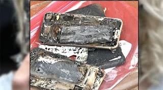 iPhone 7 phát hỏa