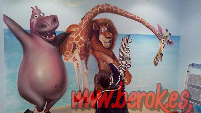 graffiti infantil Madagascar