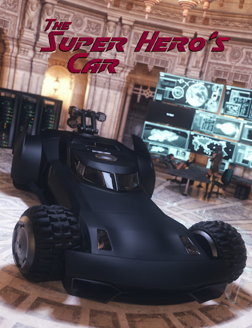 The Super Hero's Car