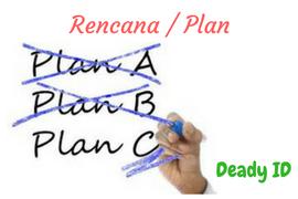 Rencana yang matang