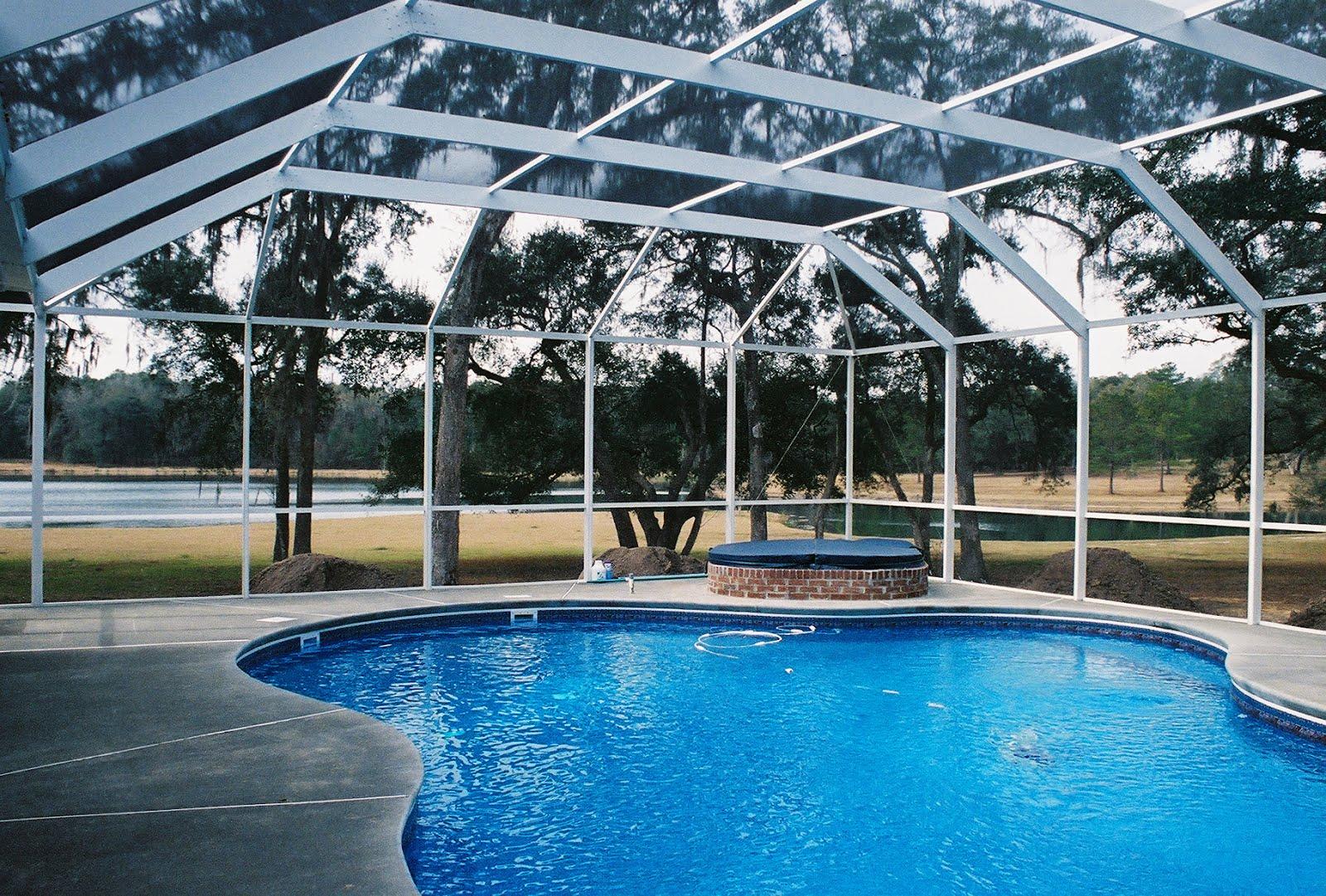 Pool enclosures usa pricing pool enclosures - Swimming pool screen enclosures cost ...