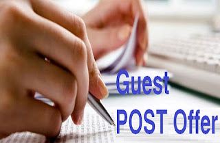 Guest Post Offer for authors