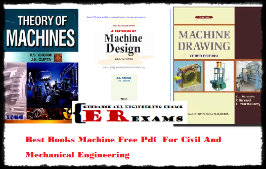 Best Books Machine Free Pdf For Civil And Mechanical Engineering