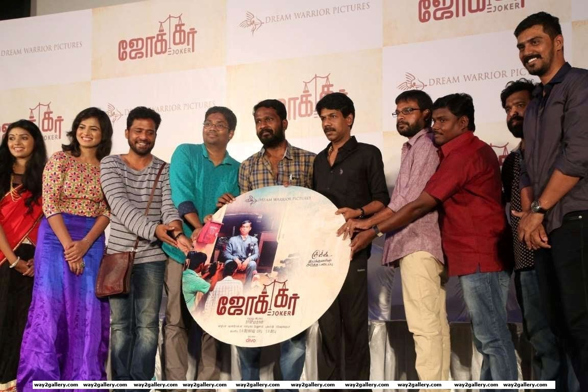 Bala and Vetrimaaran were the chief guests at the audio launch of Tamil film Joker